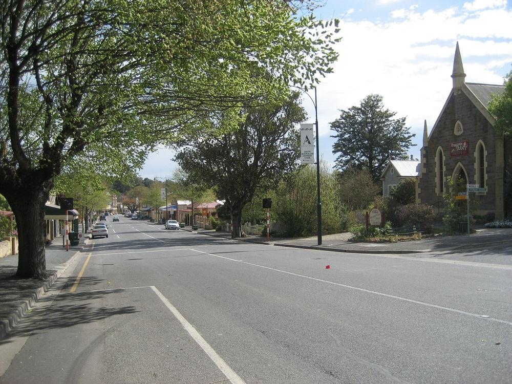 Angaston streetscape